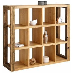 Home affaire Raumteilerregal »Larengo«, aus recyceltem Holz