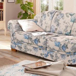Home affaire Recamiere »Amrum«, mit Blumenmuster, mit Federkern, Armteil links oder rechts