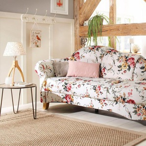 Home affaire Recamiere »Mayfair«, mit Blumenmuster, freistehend, wahlweise Armlehne links oder rechts