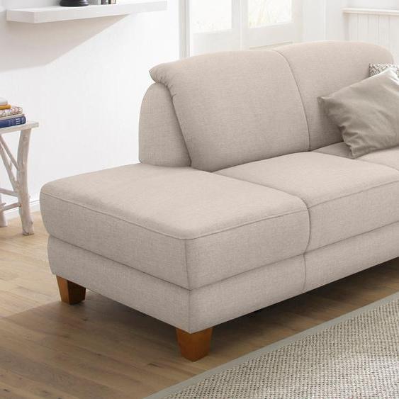 Home affaire Recamiere, mit Federkern, FSC®-zertifiziert, beige, Material Holzwerkstoff »Gotland«