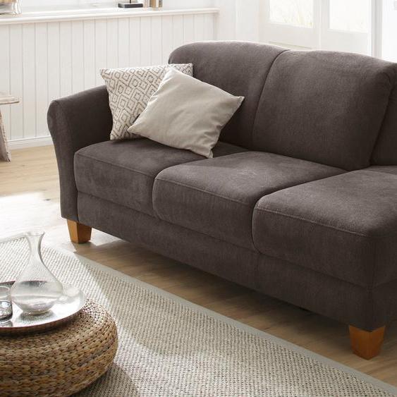 Home affaire Recamiere, mit Federkern, FSC®-zertifiziert, braun, Material Holzwerkstoff »Gotland«