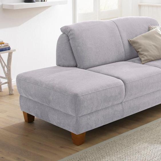 Home affaire Recamiere, mit Federkern, FSC®-zertifiziert, grau, Material Holzwerkstoff »Gotland«