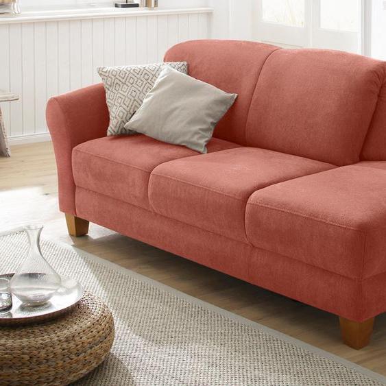 Home affaire Recamiere, mit Federkern, FSC®-zertifiziert, orange, Material Holzwerkstoff »Gotland«