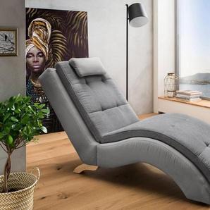 Home affaire Relaxliege »Vengo«, mit Kopfkissen, Mattenoptik auf Korpus