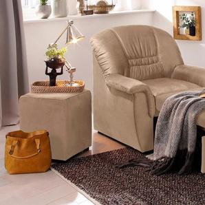 Home affaire Relaxsessel »Zoe«, mit ausziehbarer Fußablage und Federkern-Polsterung