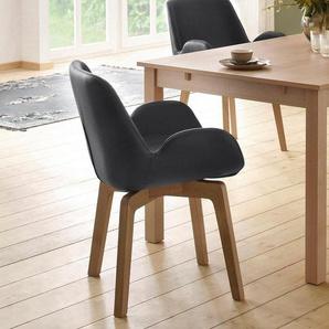 Home affaire Armlehnstuhl »Deluxe« mit verschiedenen Bezugsqualitäten