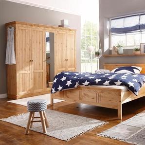 Home Affaire Home affaire Schlafzimmer-Set  »Indra«, beige, pflegeleichte Oberfläche