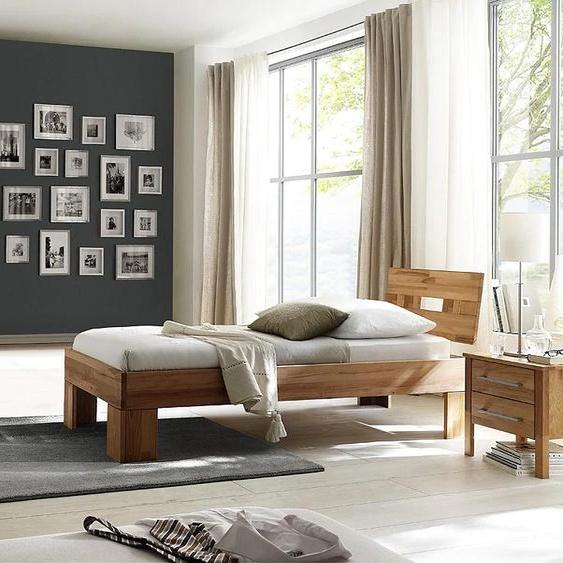 Home affaire Schlafzimmer-Set Modesty I (Set, 3-tlg) Einheitsgröße braun Komplett Schlafzimmer Betten Schlafzimmermöbel-Sets