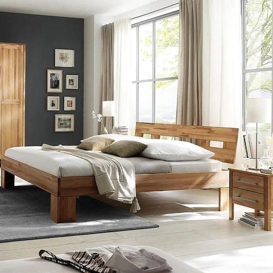 Home affaire Schlafzimmer-Set Modesty I (Set, 4-tlg) Kleiderschrank ohne Spiegel beige Komplett Schlafzimmer Betten Schlafzimmermöbel-Sets