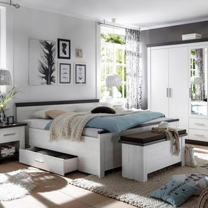 Home affaire Schlafzimmer-Set »Siena«, weiß, FSC-Zertifikat, , , FSC®-zertifiziert