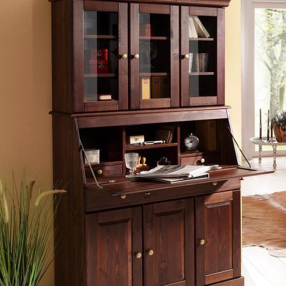 Home affaire Sekretär Rosi Einheitsgröße beige Sekretäre Bürotische und Schreibtische Büromöbel