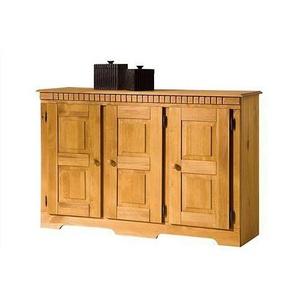 Home affaire Sideboard, beige, 3-türig, FSC®-zertifiziert