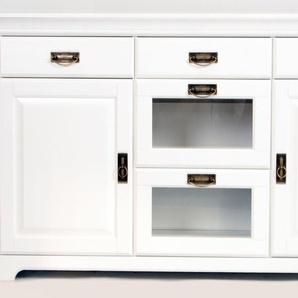 Home affaire Sideboard, weiß, Breite 145cm, FSC®-zertifiziert