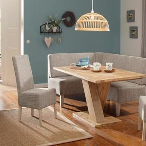 Home affaire Sitzbank Hellen B/H/T: 130 cm x 98 170 beige Eckbänke Sitzbänke Stühle