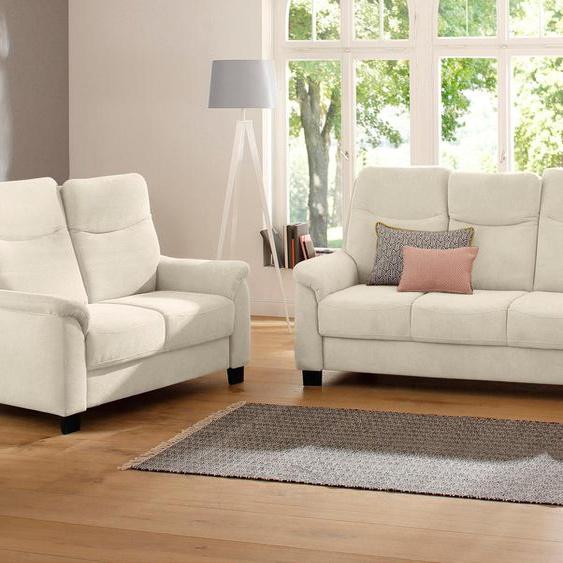 Sitzgruppe »Bocca«, mit Federkern, Landhaus-Stil, Home affaire, beige, Material Metall, Holzwerkstoff, Polyester, Polyamid, frei stellbar