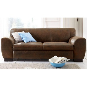 Home affaire Sofa »Nika«, 2 oder 3- Sitzer in Microfaser MELROSE