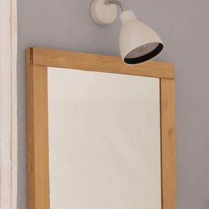 Home affaire Spiegel Olso 0, (B/H/T): 55/65/12 cm beige Badmöbelserien N - Q Badmöbel