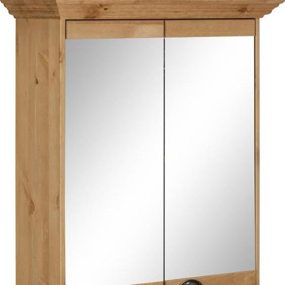 Home affaire Spiegelschrank Claudia B/H/T: 72 cm x 83,5 25 beige Badschränke Schränke Nachhaltige Möbel