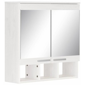 Home affaire Spiegelschrank aus Massivholz »Josie«, weiß, FSC-Zertifikat, , , FSC®-zertifiziert