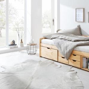 Home affaire Multimediabett , beige, 90x200 cm, FSC-Zertifikat, »Nils«, , , FSC®-zertifiziert