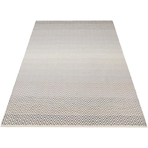 Home Affaire Teppich »Delia«, 160x230 cm, 12 mm Gesamthöhe, grau