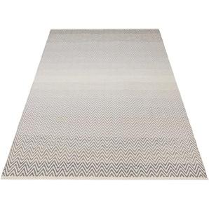 Home Affaire Teppich »Delia«, 80x150 cm, 12 mm Gesamthöhe, grau