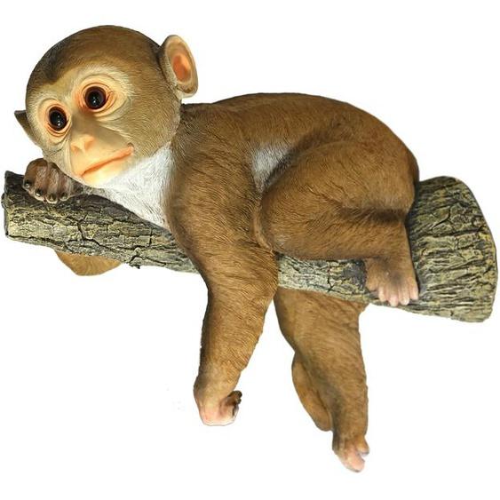 Home affaire Tierfigur Affe hängt am Ast Einheitsgröße bunt Gartenfiguren Gartendekoration Gartenmöbel Gartendeko Dekofiguren