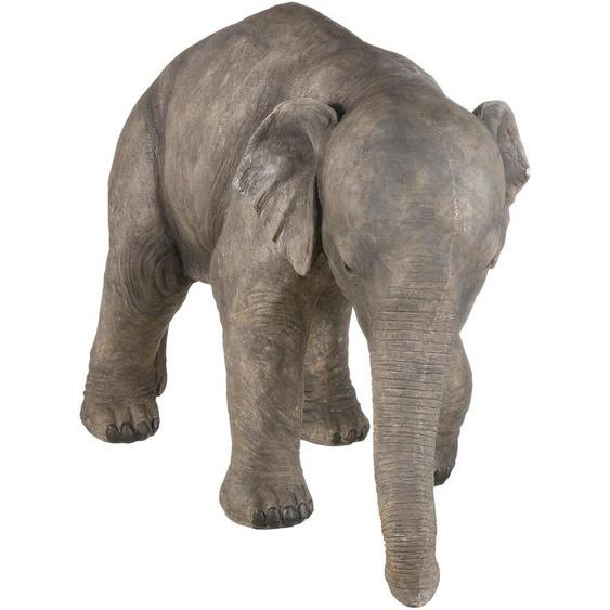 Home affaire Tierfigur Elefant Einheitsgröße grau Gartenfiguren Gartendekoration Gartenmöbel Gartendeko Dekofiguren