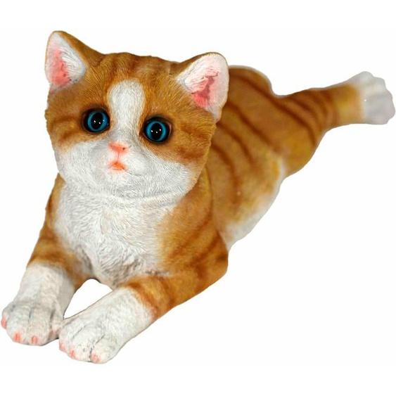 Casa Collection by Jänig Tierfigur »Katze braun, liegend, L 34 cm«