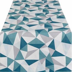Tischläufer (1-tlg), mit geometrischem Print