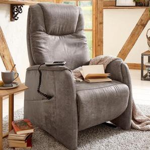 Home affaire TV-Sessel, FSC®-zertifiziert, beige »Mamba«, elektrisch verstellbar