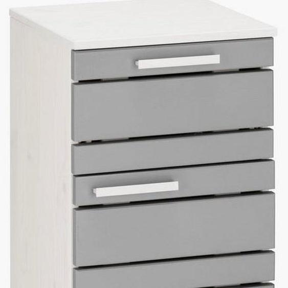 Home affaire Unterschrank »Josie« Breite 30 cm, aus Massivholz, verstellbarer Einlegeboden, Metallgriffe, 1 Schublade & 1Tür
