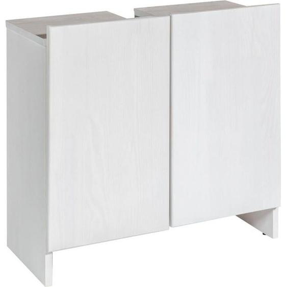 Home affaire Waschbeckenunterschrank »Arta« aus Kiefer massiv, Breite 65 cm