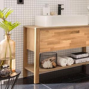 welltime Waschbeckenunterschrank »Kaika«, Breite 100 cm