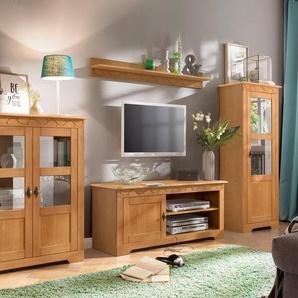 Home affaire Wohnwand »Laura«, (Set, 3-St), mit 1 Vitrine, 1 TV-Lowboard und 1 Highboard