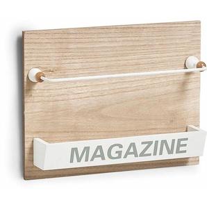 Zeller Wand-Magazinhalter »Nordic«
