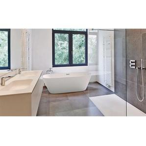 HOME DELUXE Badewanne Toskana, B/T/H: 170 / 80 58 cm, freistehend weiß Badewannen Whirlpools Bad Sanitär