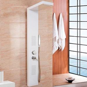 HOME DELUXE Duschsäule Cascata, Breite 20 cm Einheitsgröße weiß Duscharmaturen Badarmaturen Bad Sanitär