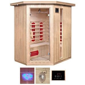 HOME DELUXE Infrarotkabine »Redsun XL«, BxTxH: 155x120x190 cm, für bis zu 3 Personen