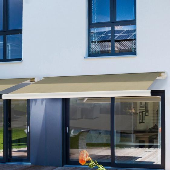 HOME DELUXE Kassettenmarkise »LED Elos V2« Breite/Ausfall: 400x300 cm, mit LED und Fernbedienung