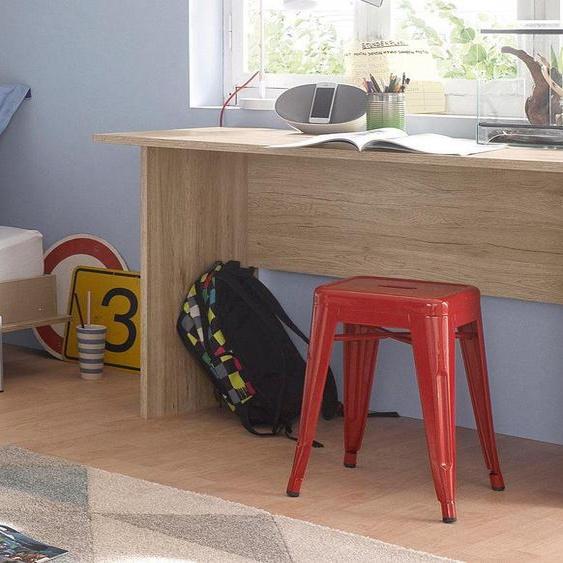 Home-Office Schreibtisch  »Albero«, beige, rauch ORANGE»Albero«