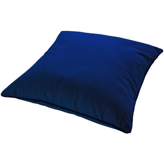 HOME STORY Bodenkissen  Charlotte ¦ blau ¦ 100% Polyesterfüllung ¦ Maße (cm): B: 60