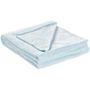 HOME STORY Coralfleecedecke  Emely   blau   Polyester, 100% Polyester   150 cm   Möbel Kraft