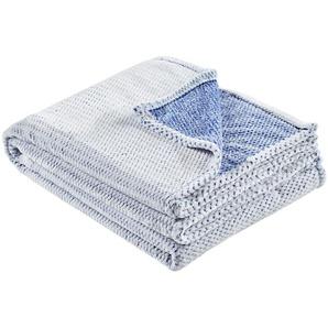 LAVIDA Coralfleecedecke  Mini Mi | blau | 100% Polyester | 150 cm | Möbel Kraft