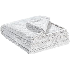 LAVIDA Coralfleecedecke  Mini Mi | braun | 100% Polyester | 150 cm | Möbel Kraft