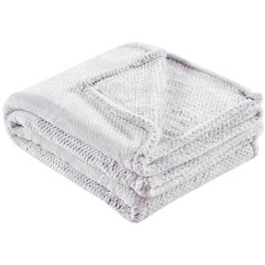 LAVIDA Coralfleecedecke  Mini Mi | grau | 100% Polyester | 150 cm | Möbel Kraft