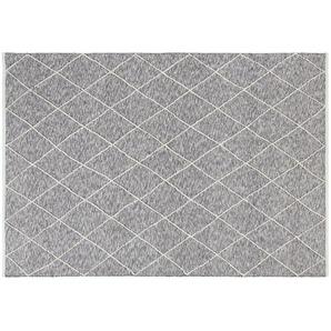for friends Handgewebter Naturteppich | grau | Baumwolle, 100% Baumwolle | 140 cm | Möbel Kraft
