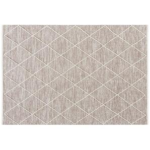 Handwebteppich  Pantin ¦ braun ¦ 100 % Baumwolle, Baumwolle ¦ Maße (cm): B: 70 Teppiche  Wohnteppiche » Höffner