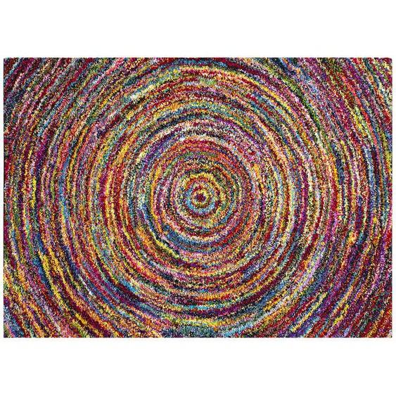 HOME STORY Hochflorteppich - mehrfarbig - Synthethische Fasern   Möbel Kraft