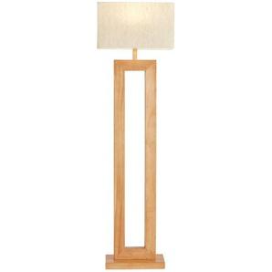 HOME STORY Stehlampe ¦ braun ¦ Maße (cm): B: 22 H: 158 T: 22